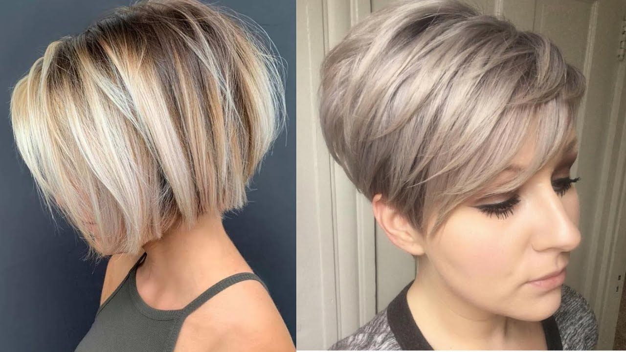 Look Younger With 10 Pixie And Short Hair Styles Best Hair Transformation For Party Youtube In 2020 Hair Transformation Cool Hairstyles Short Hair Styles