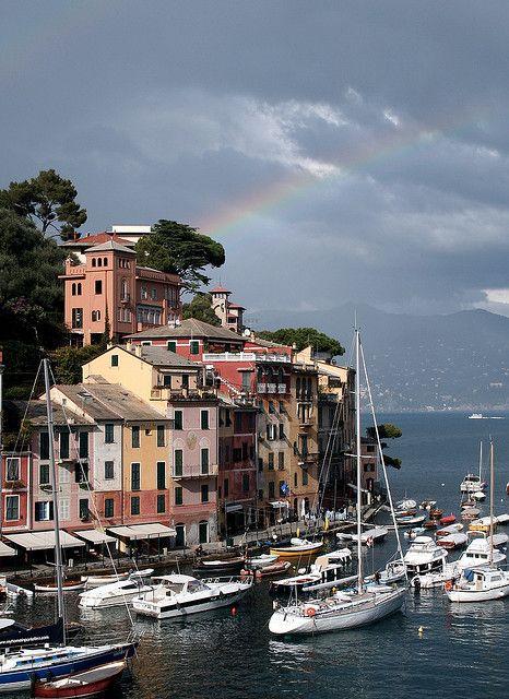 Portofino rainbow