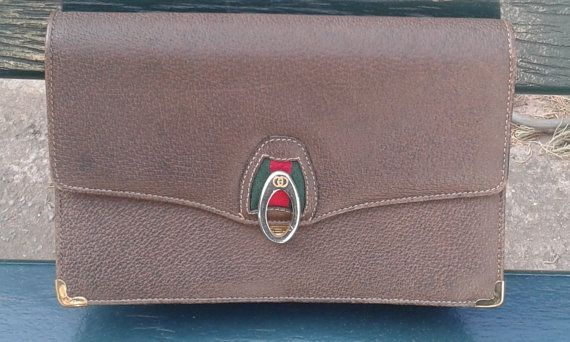 d0c63188be6 RARE Gucci Vintage Clutch by ALILALIA on Etsy Vintage Clutch