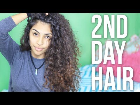 How To Refresh Curly Hair Youtube Add Your Conditioner To Spray Bottle Of Water To Wet It Down Before Adding Diy Hair Curls Curly Hair Diy Curly Hair Styles