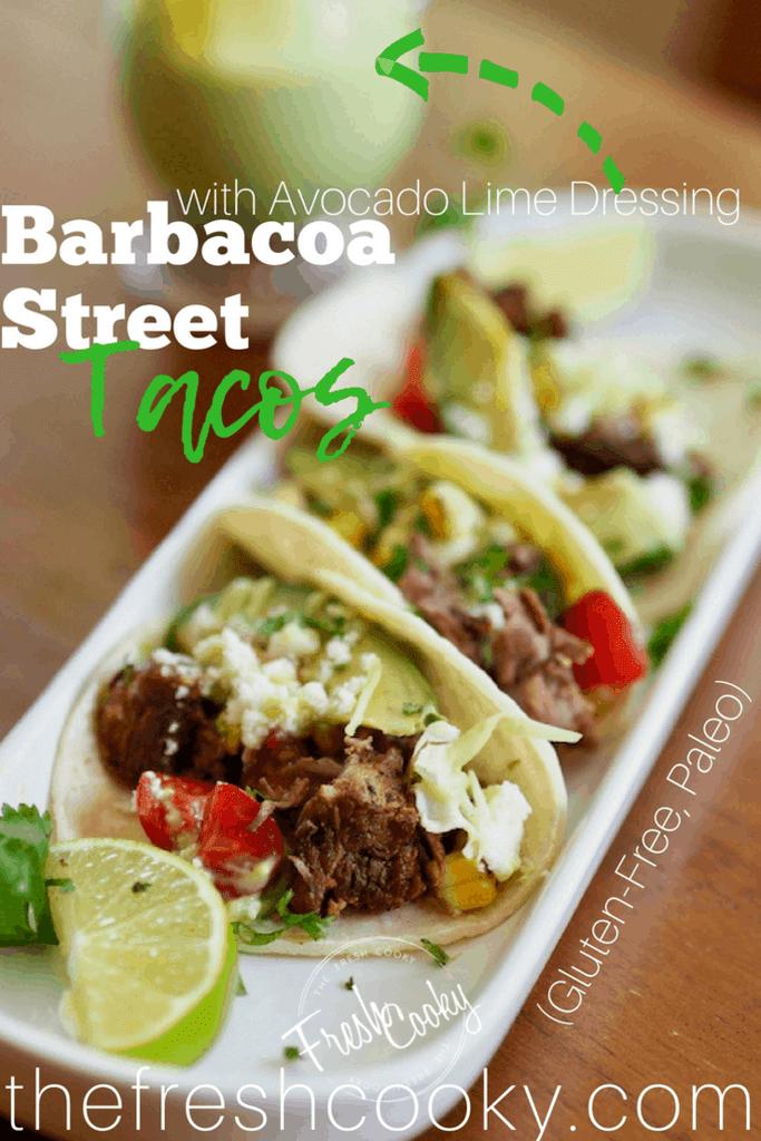 Easy Barbacoa Beef Street Tacos   Recipe   Barbacoa, Slow ...