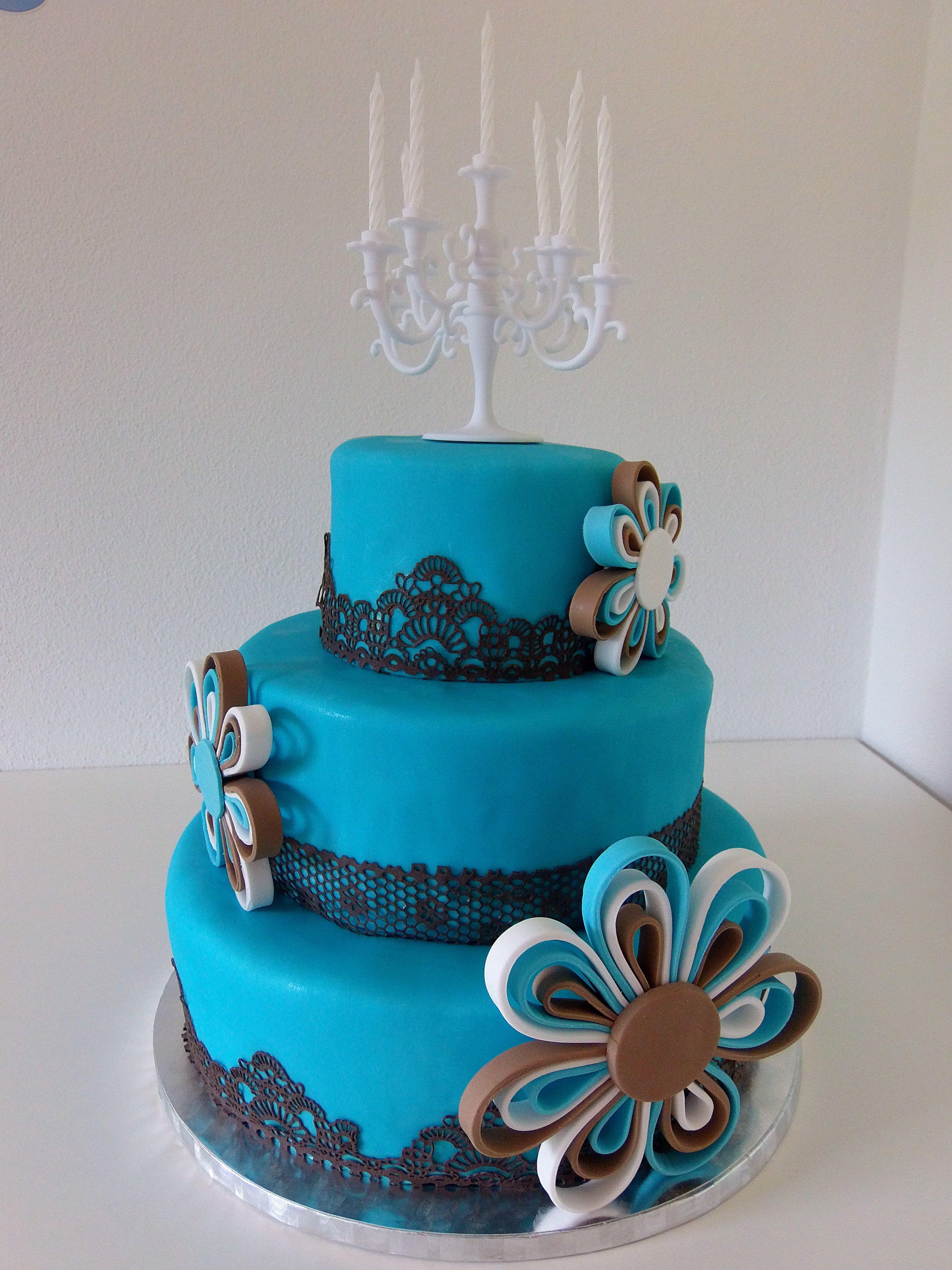 Zum 30 Geburtstag Torten Deko Cake Art Und Cake