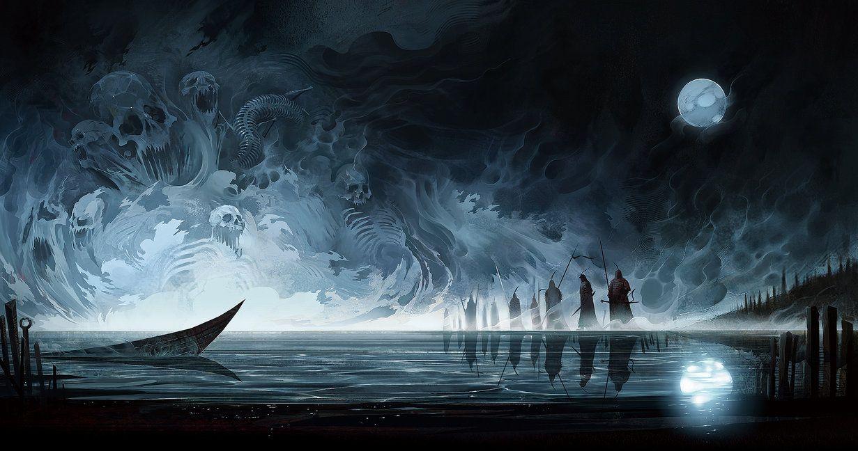 Ming-Men Lake by ~SeanSoong on deviantART