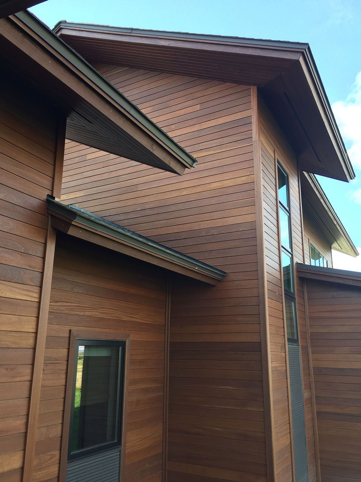 Batu Siding 1x6 Fineline Shiplap Bozeman Home Nova Usa Wood Wood Cladding Exterior Cladding Systems Hardwood Decking