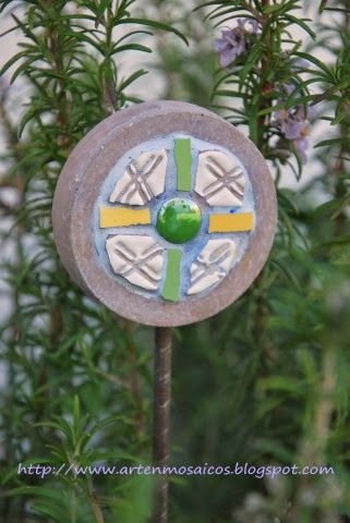 Mosaicos : Tutores fusión Cemento y Mosaicos