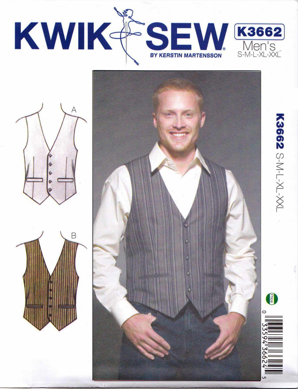 Kwik sew sewing pattern 3662 mens sizes s xxl chest 34 52 kwik sew sewing pattern 3662 mens sizes s xxl chest 34 52 jeuxipadfo Choice Image