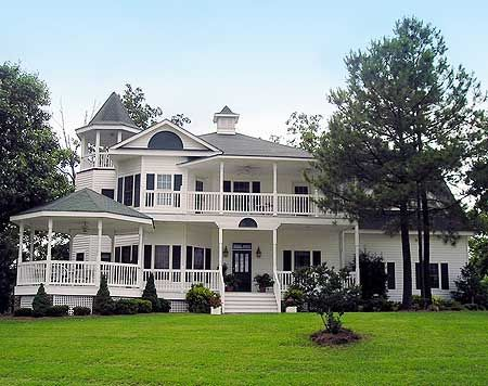 Plan 32561wp Gazebos And Turrets Victorian House Plans Dream