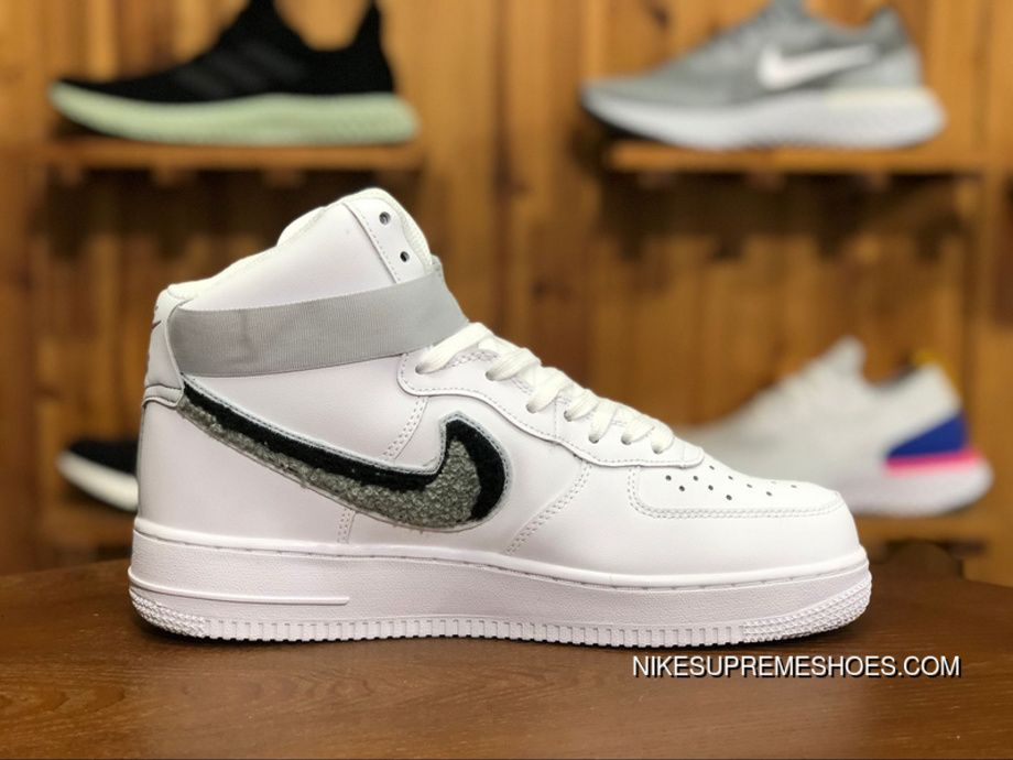 a4980f5e607 Nike Air Force 1 High  07 LV8 806403 105 Casual Shoes White Wolf Grey Pure  Platinum Top Deals