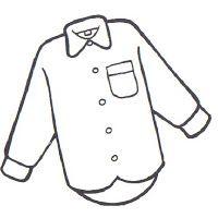 Camisa Dibujos Para Colorear Prendas De Vestir Colores