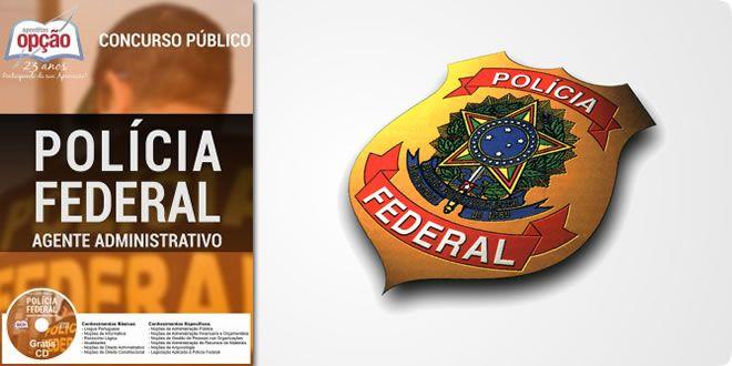 Apostila Agente Administrativo Policia Federal Pdf E Impressa