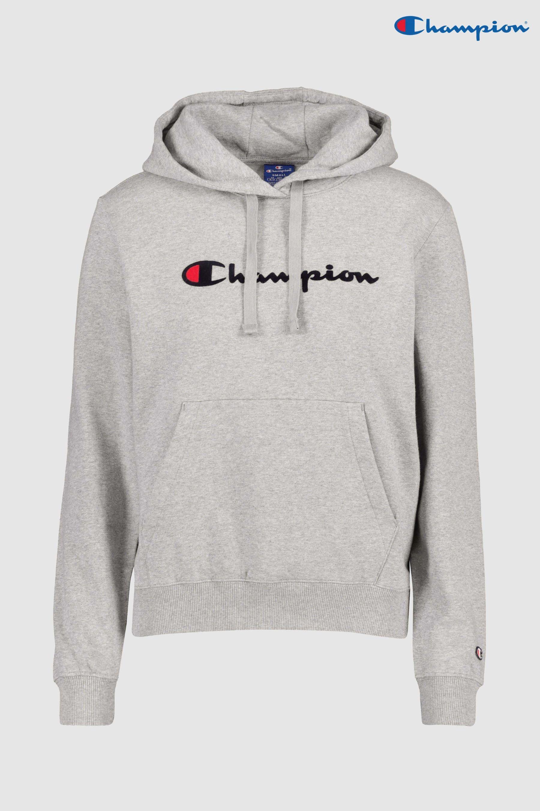 8773590a799 Womens Champion Logo Hoody - Red | Champion Clothing Brand ...