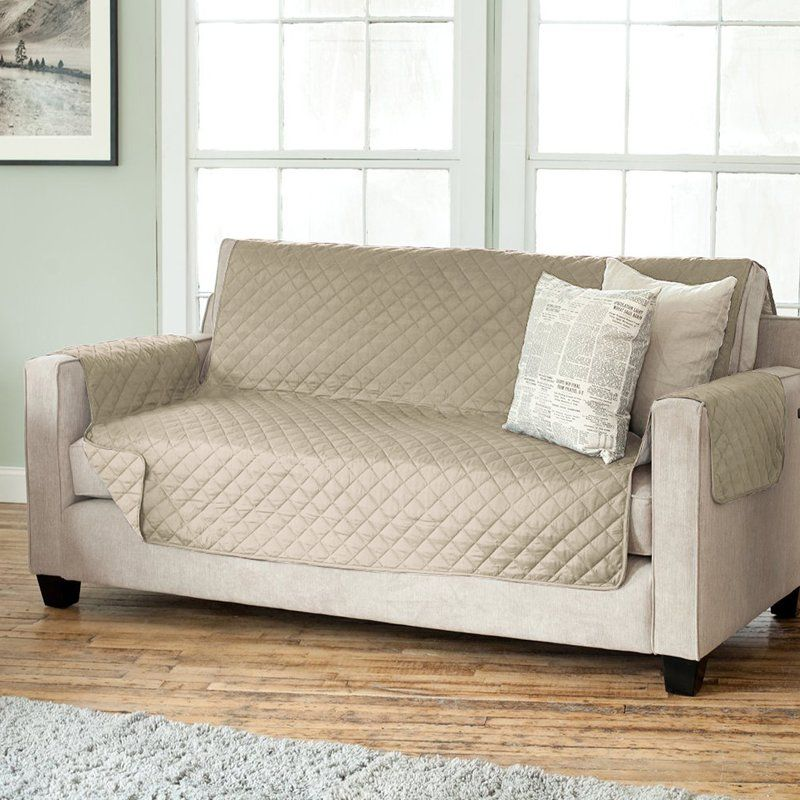 Carnside Diamond Box Cushion Sofa Slipcover Slipcovered