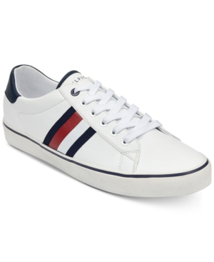 Tommy Hilfiger Men S Paris Sneakers Men S Shoes In White Modesens Sneakers Men Fashion Sneakers Tommy Hilfiger