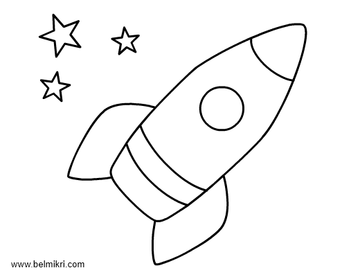 rocket coloring page for preschool 365 days of healthy family