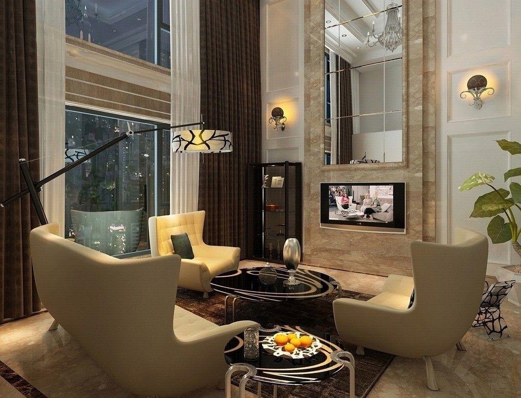 Best Mansion Living Rooms Duplex House Living Room Design 400 x 300