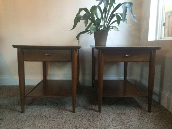 Best A Pair Of Mid Century Modern Mersman End Tables 400 x 300