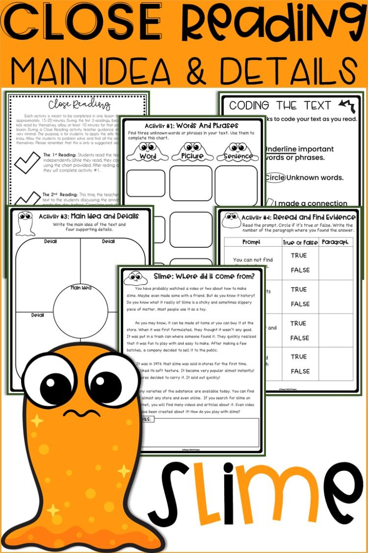 2nd Grade Close Reading Passages And Questions Printables Packet Close Reading Passages Reading Passages Close Reading [ 1125 x 750 Pixel ]