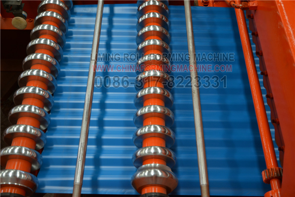 Color Steel Sheet Roll Forming Machine Roofing Sheets Steel Sheet Roll Forming