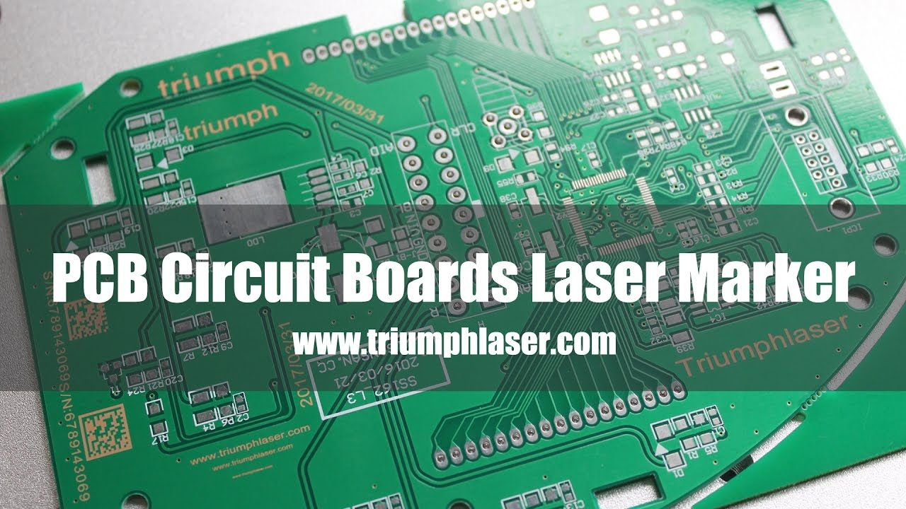 PCB Circuit Boards laser marker|date laser marking machine|logo
