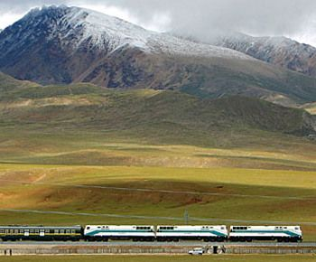 The Silk Road - China = train from Beijing to Moscow (6,250 miles)