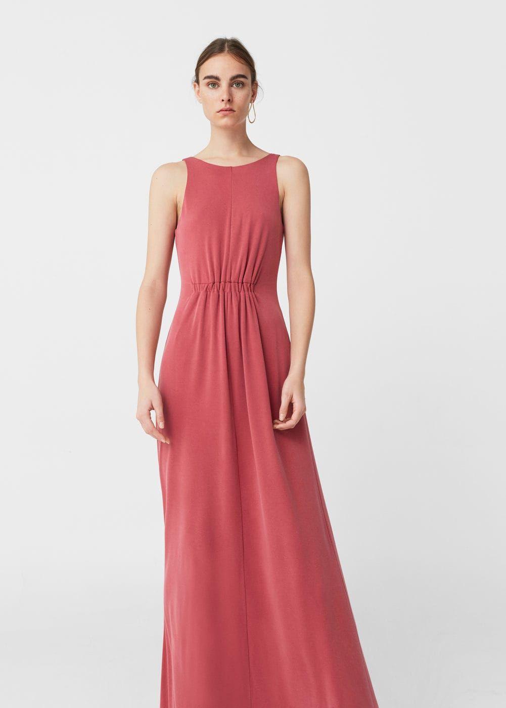 Sukienka z modalu - Kobieta  Mango Polska  Dresses, Womens
