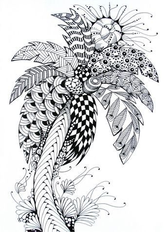 Palm Tree Craft Ideas I Love In 2019 Palm Tree Drawing