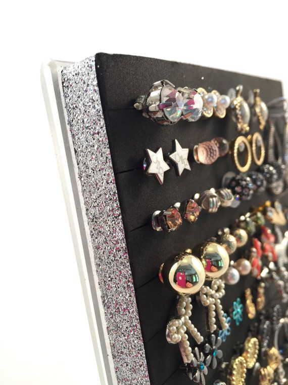 This Stud Earring Holder Is The Perfect Solution To Display And