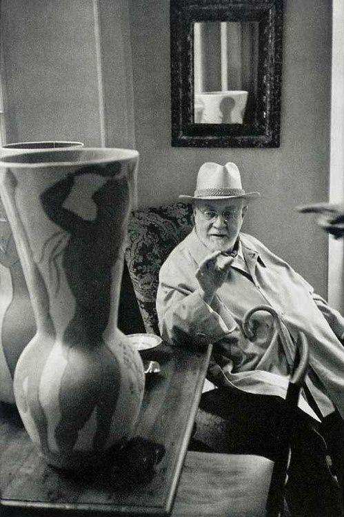 Matisse by Henri Cartier-Bresson