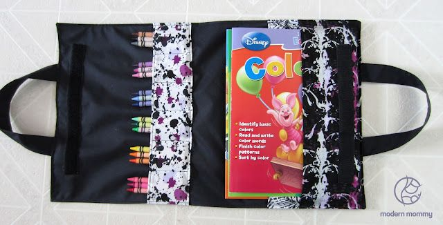DIY Coloring Book Artfolio A Carrying Case For Crayons Books So Smart
