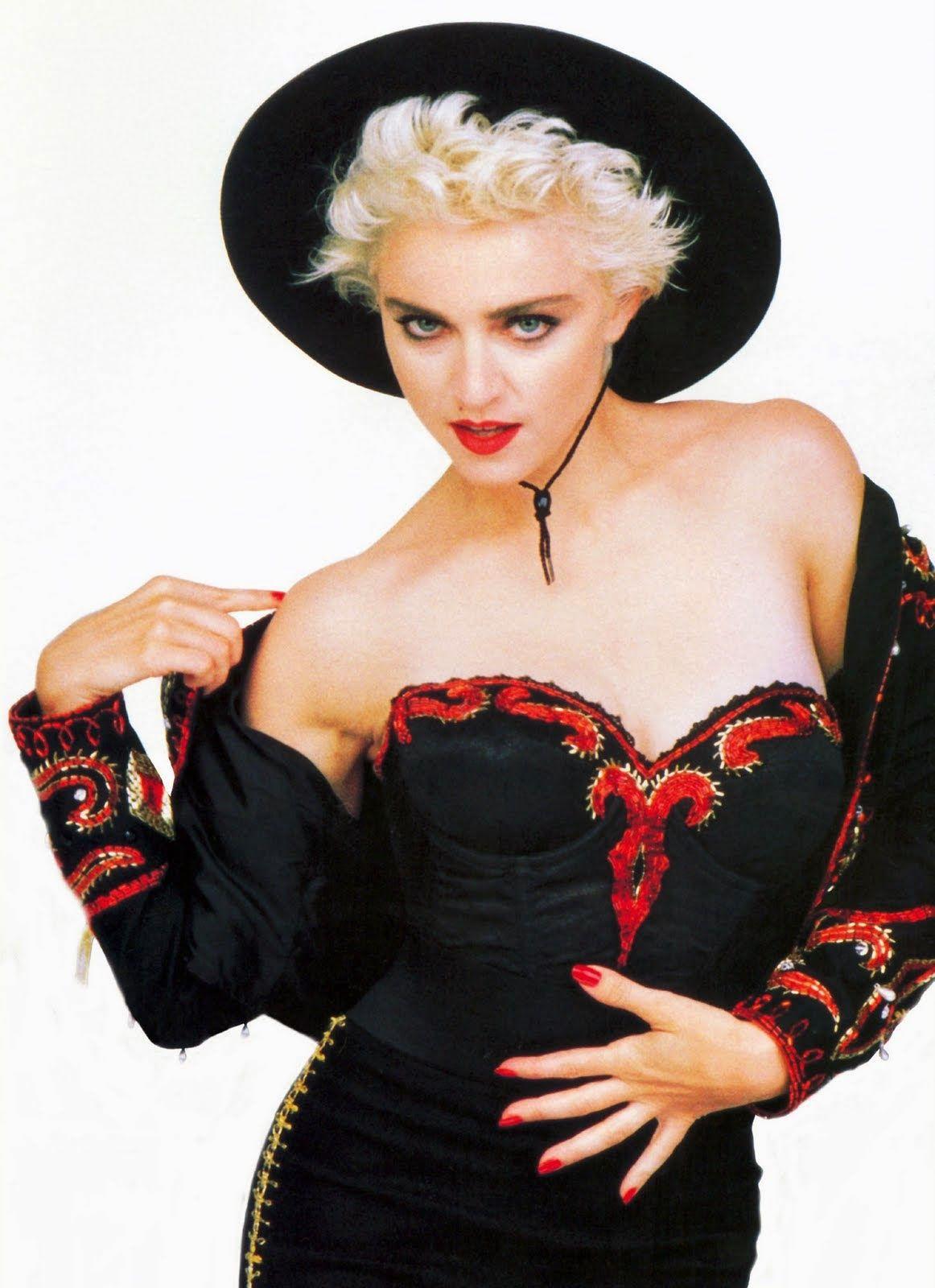1987 La Isla Bonita You Can Dance Photoshoot Fotos Artisticas Mujer Madonna Famosos