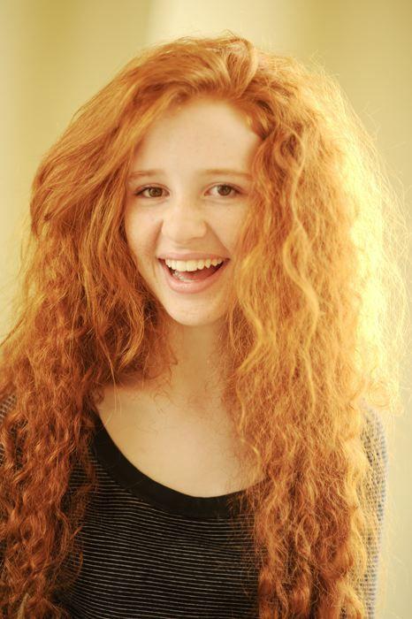 Irish redhead models