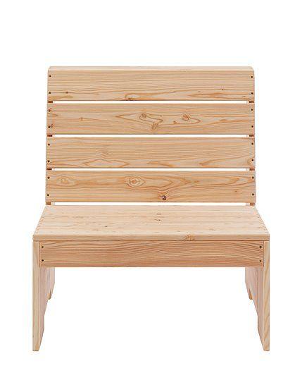 Sessel oder Sitzbank mit Lehne. Entscheiden Sie selber was Sie ...