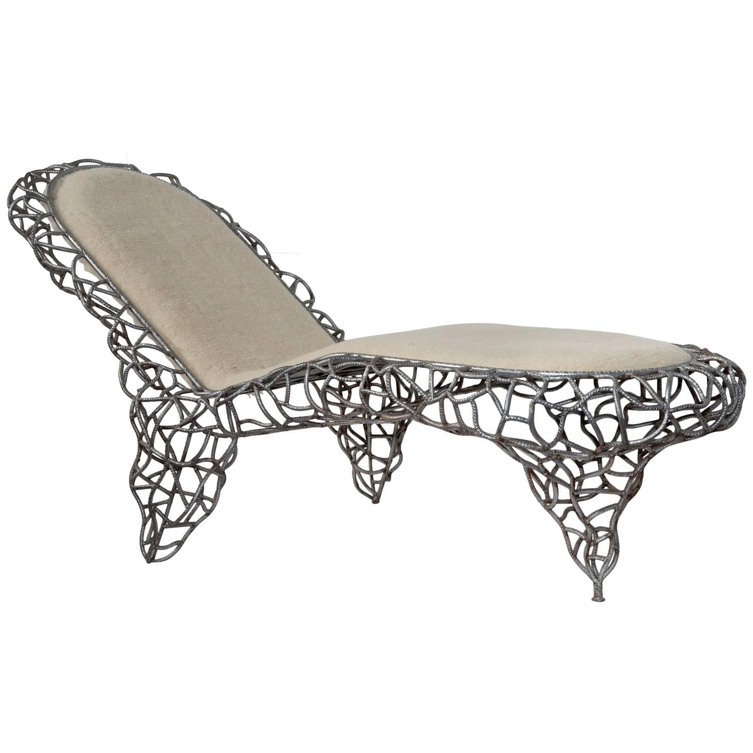1980s Wrought Iron Daybed | From a unique collection of antique and modern day beds at https://www.1stdibs.com/furniture/seating/day-beds/