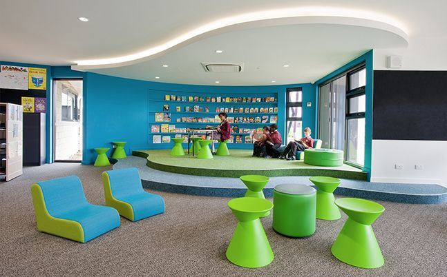 Classroom Design Primary School ~ Futuristic learning center design for kids google search