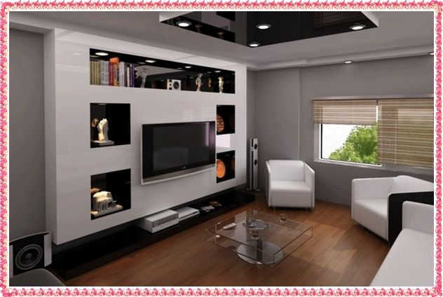 pin by muthoni ndungu on gypsum in 2018 pinterest wall mounted tv tvs and tv unit. Black Bedroom Furniture Sets. Home Design Ideas