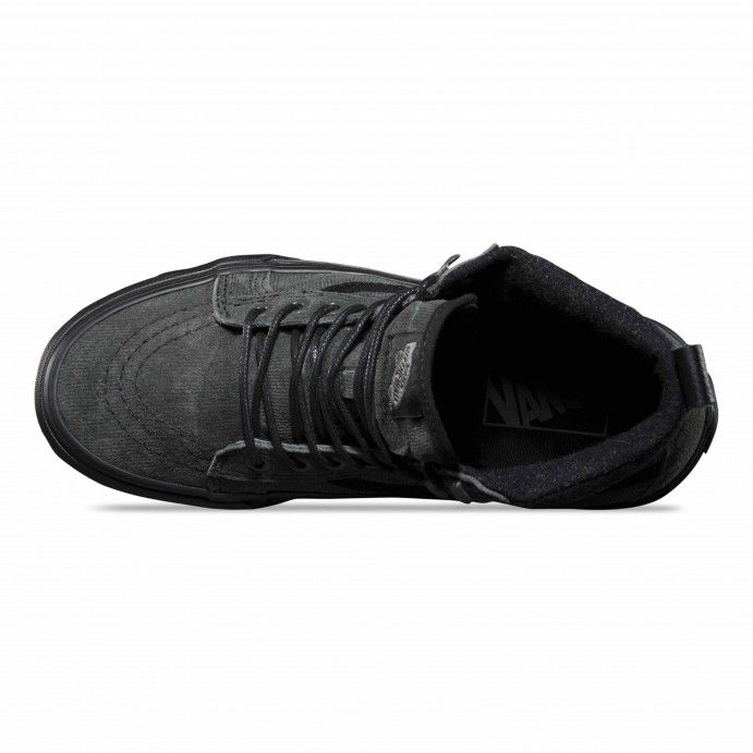 Vans Sk8-Hi MTE Schuhe (MTE) denim suede/black - Vans Deutschland ...