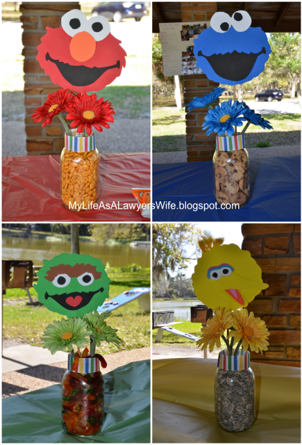My Life As A Lawyer S Wife Ellie S Sesame Street 2nd Birthday Party Sesame Street Birthday Sesame Street Birthday Party Elmo Birthday Party Boy