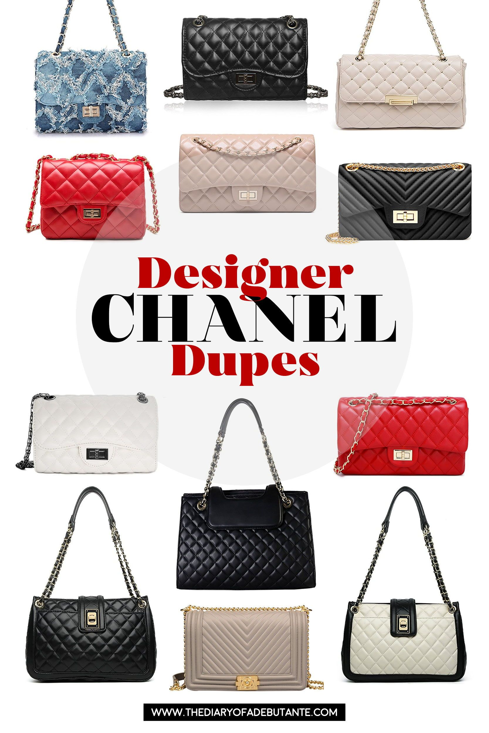 The Best Chanel Dupes And Where To Find Them Trending Handbag Bags Luxe Handbags