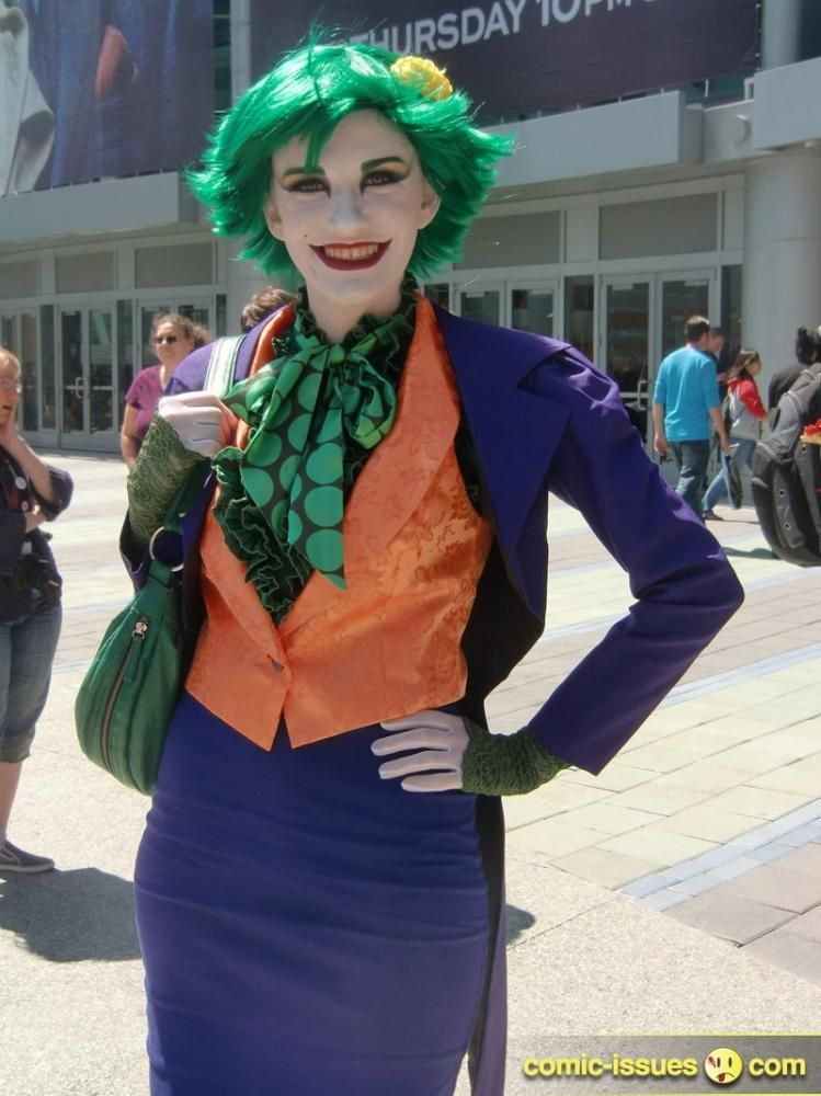 13 AWESOME Female Joker Costumes!!!  sc 1 st  Pinterest & WHOA! 13 AWESOME Female Joker Costumes!!! | Lilu | Pinterest | Joker ...