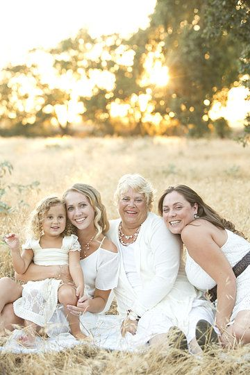 Mother Daughter 3 Generations Girls Family Photo By Ripon