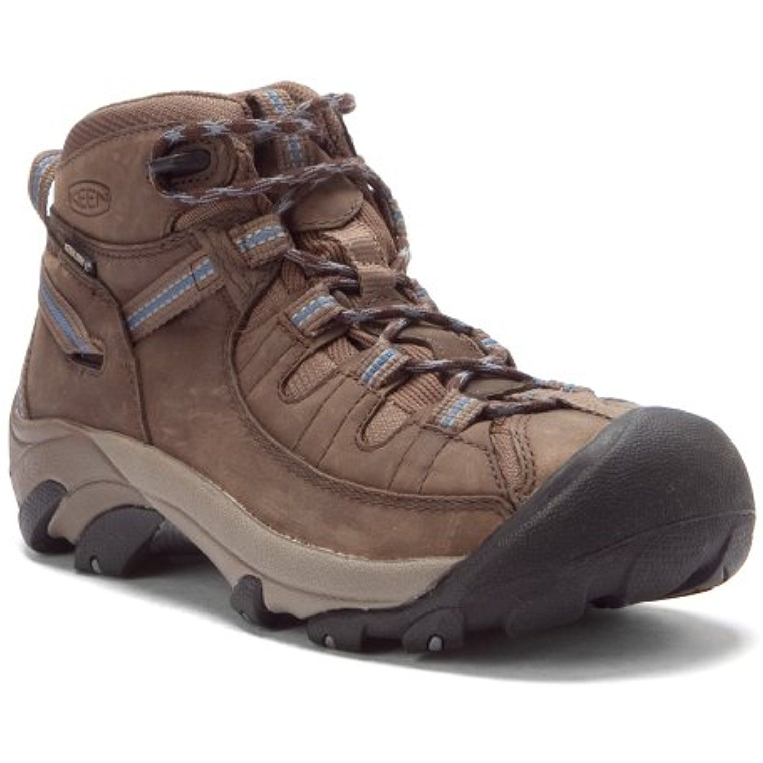 1004114 KEEN Women's Targhee II Mid Hiking Boots - Brown - 9.5\M * Want