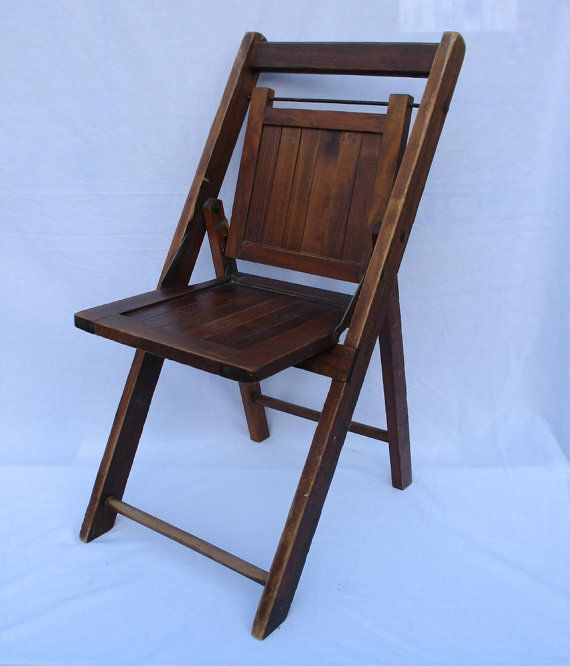Antique Folding Chair Childs Sunday School Chair by ifindubuy, $55.00 - Antique Folding Chair Childs Sunday School Chair By Ifindubuy