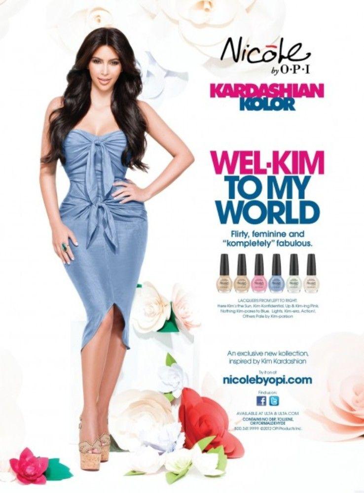 Wel-Kim To My World: Kim Kardashian\'s Latest Nail Polish Collection ...