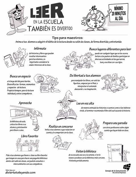 LAPICERO MÁGICO: Tips de Lectura