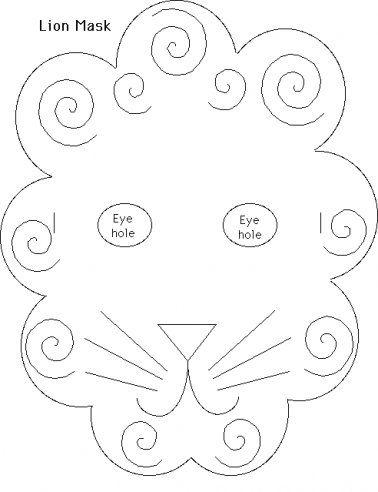 * Leeuwenmasker!