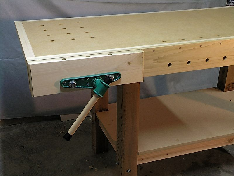 Woodworking Bench Vise Installation Plans Woodworking Bench For Sale