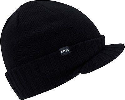 2c2e2c5e7f0 Hats and Headwear 62175  Coal Rowan Brim Beanie Mens -  BUY IT NOW ONLY