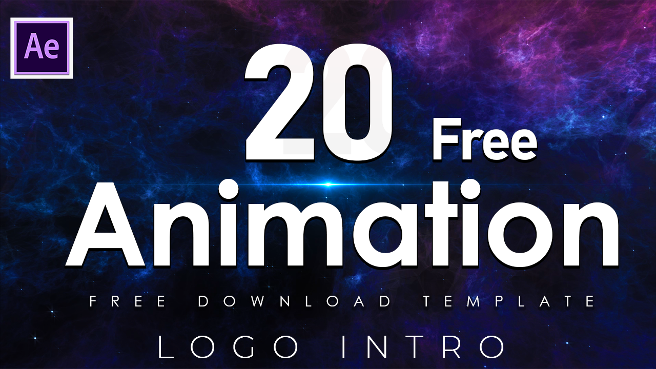 20 Free Animation Logo Intro for Adobe After Effects Part