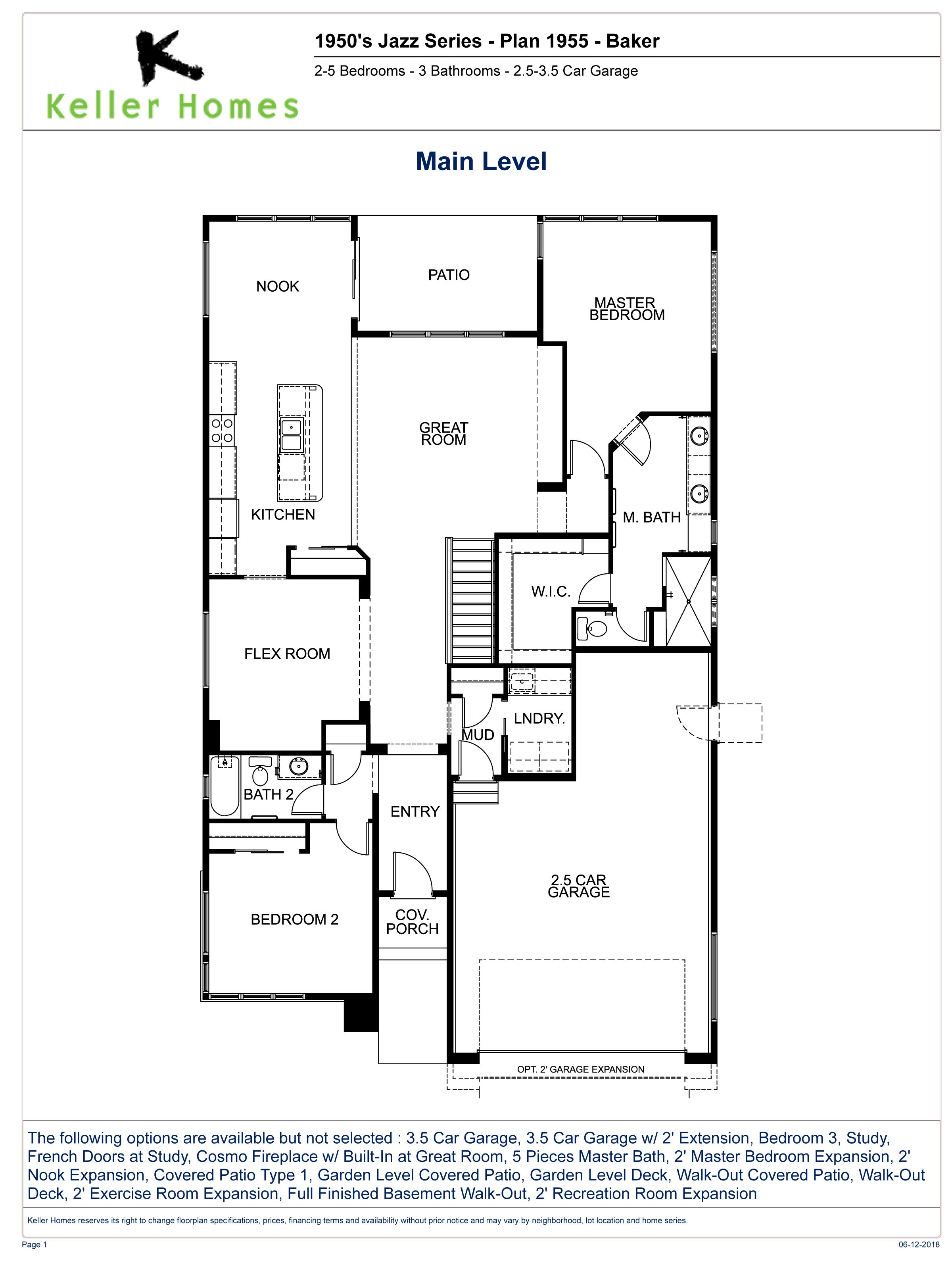The Baker Interactive Floorplan Subject To Change Without Notice Floor Plans How To Plan Ranch House