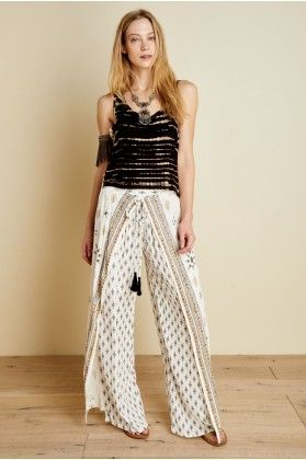 fc35309f7e Norah Faux Wrap Pants - Earthbound Trading Co.